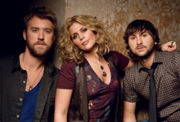 Lady Antebellum: Take Me Downtown Tour 2014 at DTE Energy Music Theatre