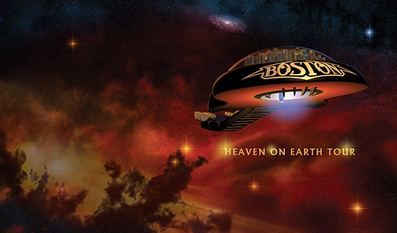 Boston - Heaven on Earth Tour at DTE Energy Music Theatre