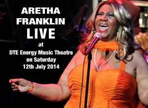 Aretha Franklin at DTE Energy Music Theatre