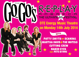 Replay America:  The Go-Gos at DTE Energy Music Theatre
