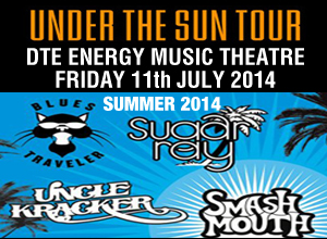 Sugar Ray, Smash Mouth, Blues Traveler & Uncle Kracker at DTE Energy Music Theatre