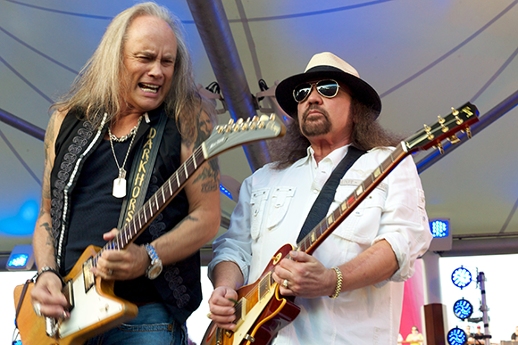 Lynyrd Skynyrd & Bad Company at DTE Energy Music Theatre