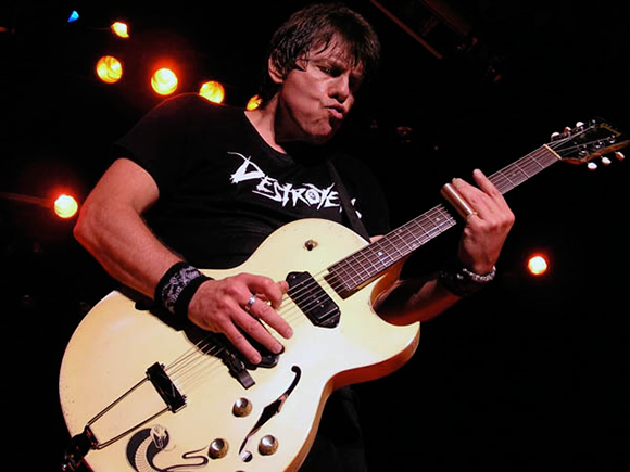 George Thorogood and The Destroyers & Brian Setzer at DTE Energy Music Theatre