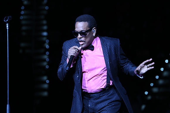 Charlie Wilson, Kem & Joe at DTE Energy Music Theatre
