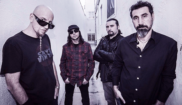 System of a Down at DTE Energy Music Theatre