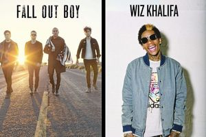 Fall Out Boy, Wiz Khalifa & Hoodie Allen at DTE Energy Music Theatre