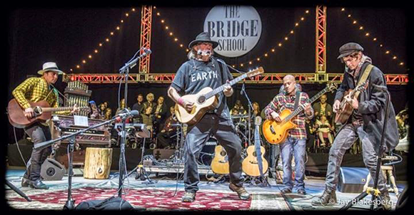 Neil Young & Promise of the Real at DTE Energy Music Theatre