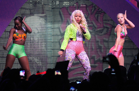 Nicki Minaj, Meek Mill & Rae Sremmurd at DTE Energy Music Theatre