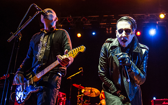 Smashing Pumpkins & Marilyn Manson at DTE Energy Music Theatre