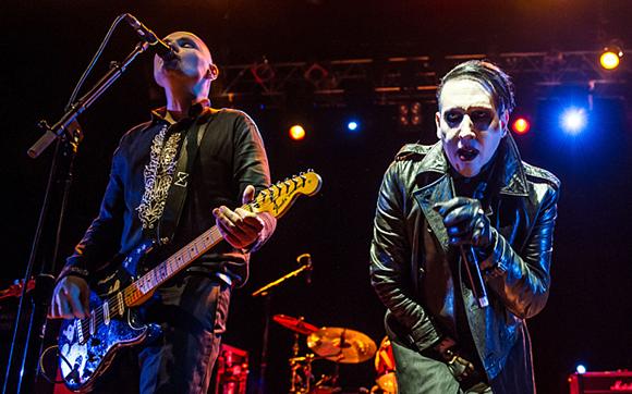 Smashing Pumpkins & Marilyn Manson at DTE Energy Music Theatre