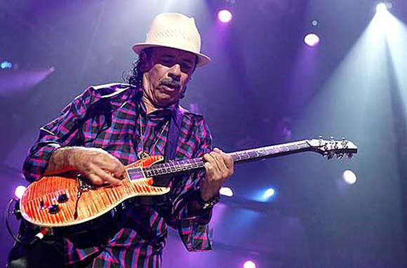 Santana at DTE Energy Music Theatre