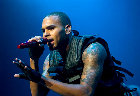 Chris Brown, Kid Ink & Omarion at DTE Energy Music Theatre