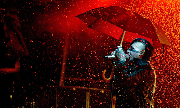 Slipknot, Marilyn Manson & Asking Alexandria at DTE Energy Music Theatre