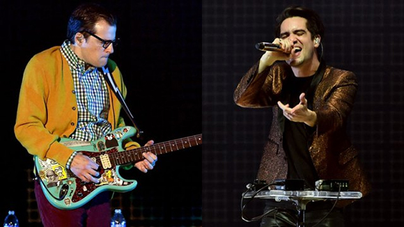 Weezer & Panic! At The Disco at DTE Energy Music Theatre