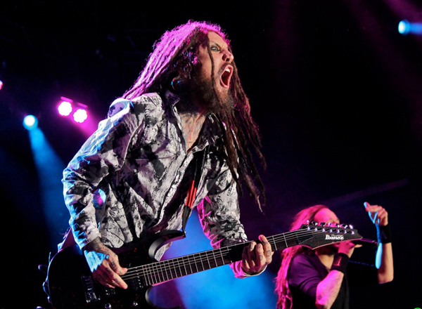 Korn & Rob Zombie at DTE Energy Music Theatre