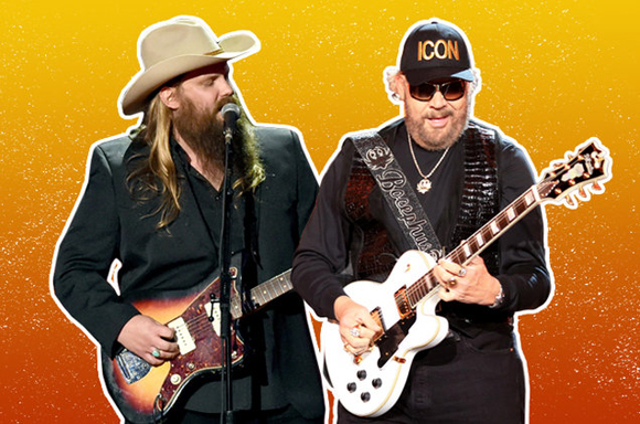 Hank Williams Jr. & Chris Stapleton at DTE Energy Music Theatre