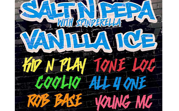 I Love The 90s: Salt N Pepa, Vanilla Ice & Coolio at DTE Energy Music Theatre