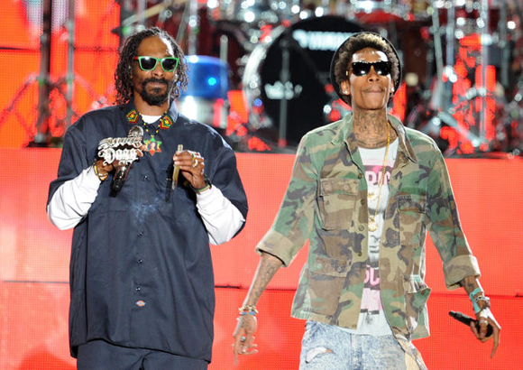Snoop Dogg, Wiz Khalifa, Kevin Gates & Jhene Aiko at DTE Energy Music Theatre
