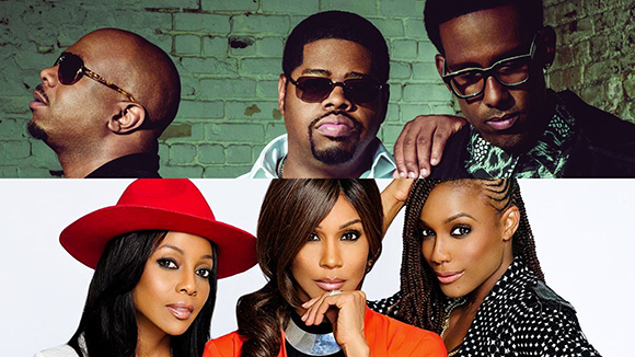 Boyz II Men & En Vogue at DTE Energy Music Theatre