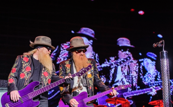 ZZ Top & Gregg Allman at DTE Energy Music Theatre