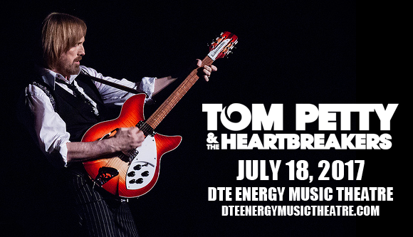 Tom Petty And The Heartbreakers at DTE Energy Music Theatre