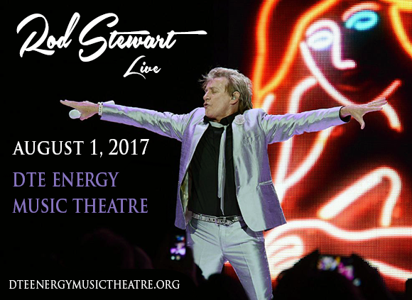 Rod Stewart & Cyndi Lauper at DTE Energy Music Theatre