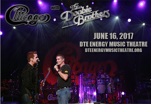 Chicago - The Band & The Doobie Brothers at DTE Energy Music Theatre