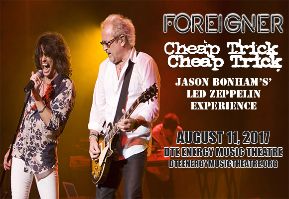 Foreigner, Cheap Trick & Jason Bonham's Led Zeppelin Experience at DTE Energy Music Theatre