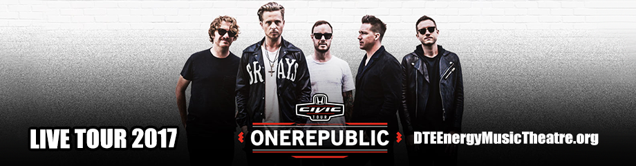OneRepublic, Fitz and The Tantrums & James Arthur at DTE Energy Music Theatre