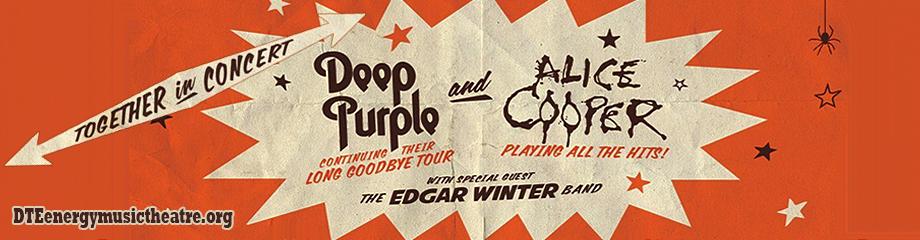 Deep Purple & Alice Cooper at DTE Energy Music Theatre