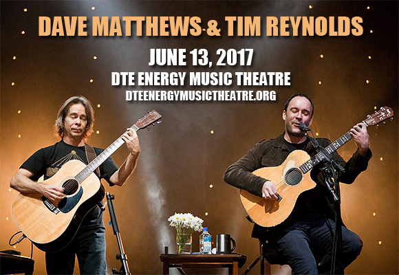 Dave Matthews & Tim Reynolds at DTE Energy Music Theatre