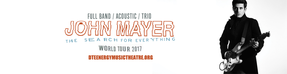 John Mayer at DTE Energy Music Theatre
