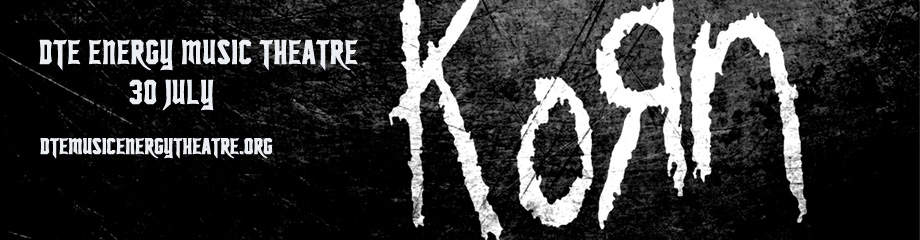 Korn & Stone Sour at DTE Energy Music Theatre