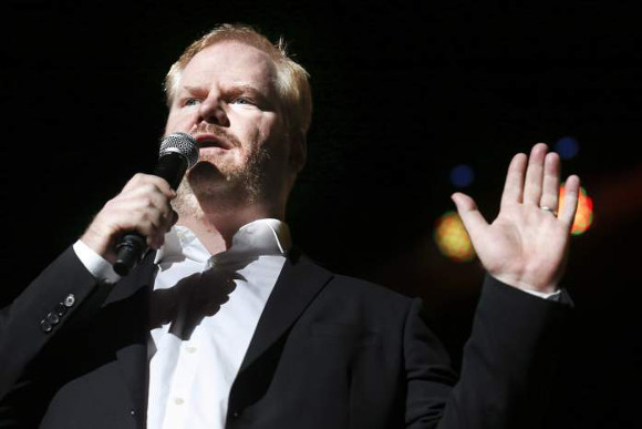 Jim Gaffigan at DTE Energy Music Theatre