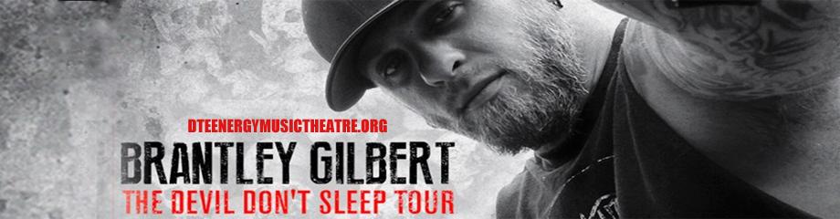 Brantley Gilbert, Tyler Farr & Luke Combs at DTE Energy Music Theatre