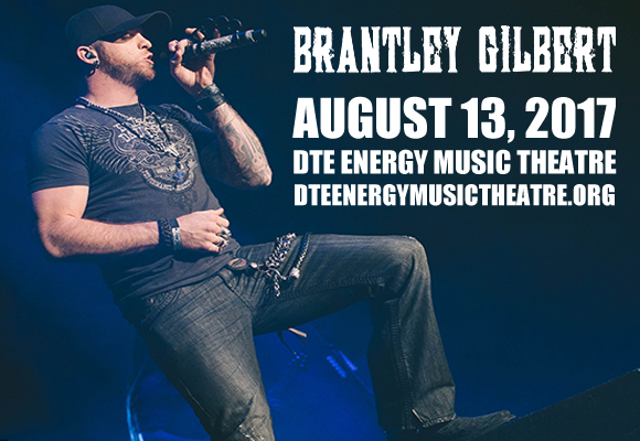 Brantley Gilbert, Tyler Farr & Luke Combs at DTE Energy Music Theatre
