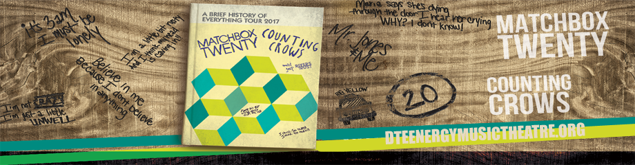 Counting Crows & Matchbox Twenty at DTE Energy Music Theatre