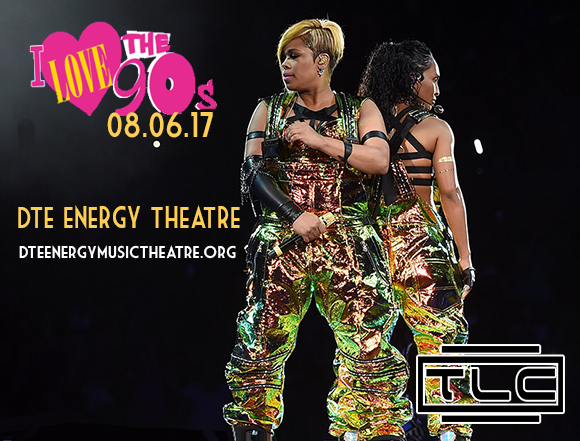I Love The 90s: TLC, Biz Markie, All-4-One & Color Me Badd at DTE Energy Music Theatre