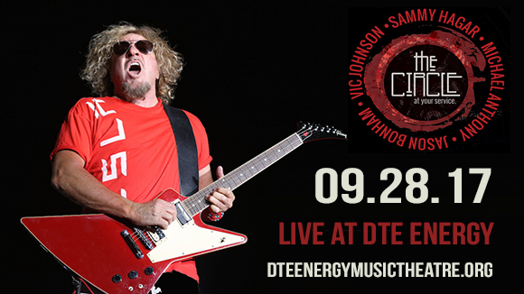 Sammy Hagar & Collective Soul at DTE Energy Music Theatre