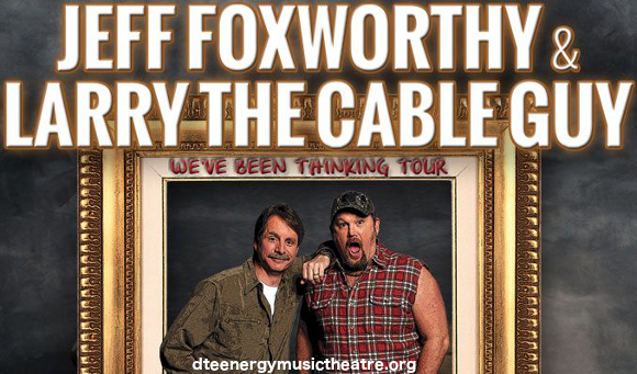 Jeff Foxworthy & Larry the Cable Guy at DTE Energy Music Theatre