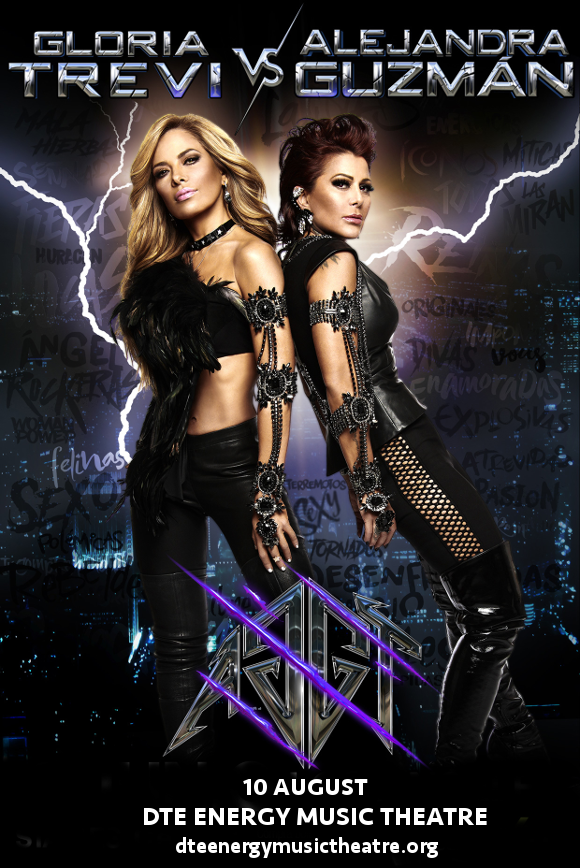 Gloria Trevi & Alejandra Guzman at DTE Energy Music Theatre