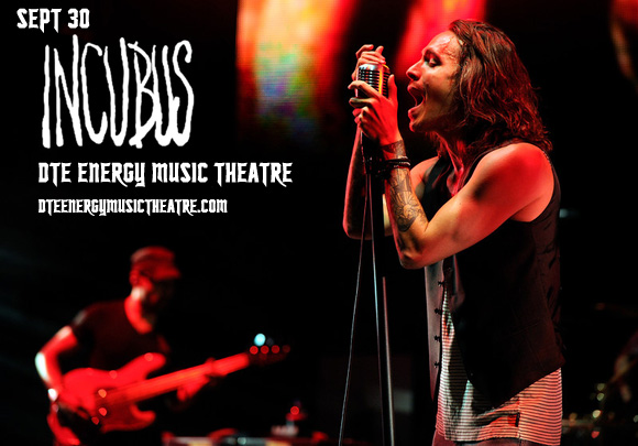 Incubus at DTE Energy Music Theatre