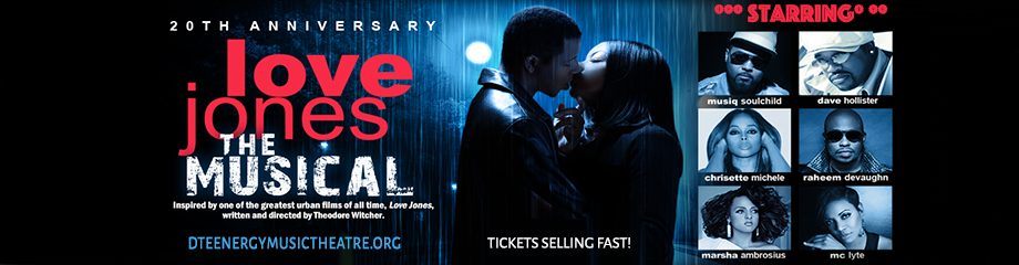 Love Jones The Musical at DTE Energy Music Theatre