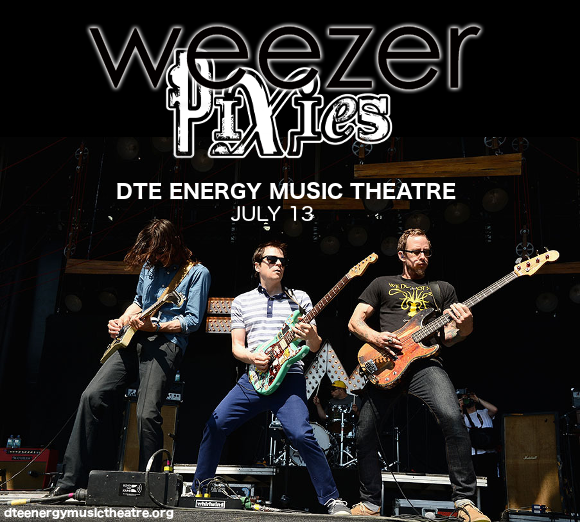 Weezer, Pixies & The Wombats at DTE Energy Music Theatre