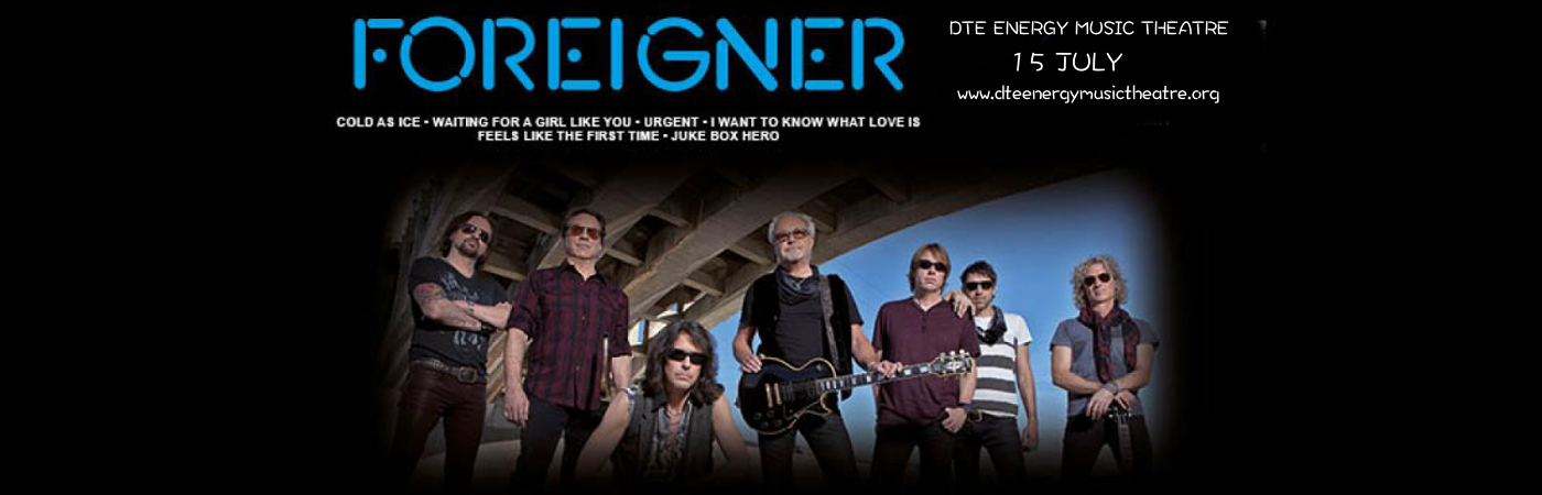 Foreigner & Whitesnake at DTE Energy Music Theatre