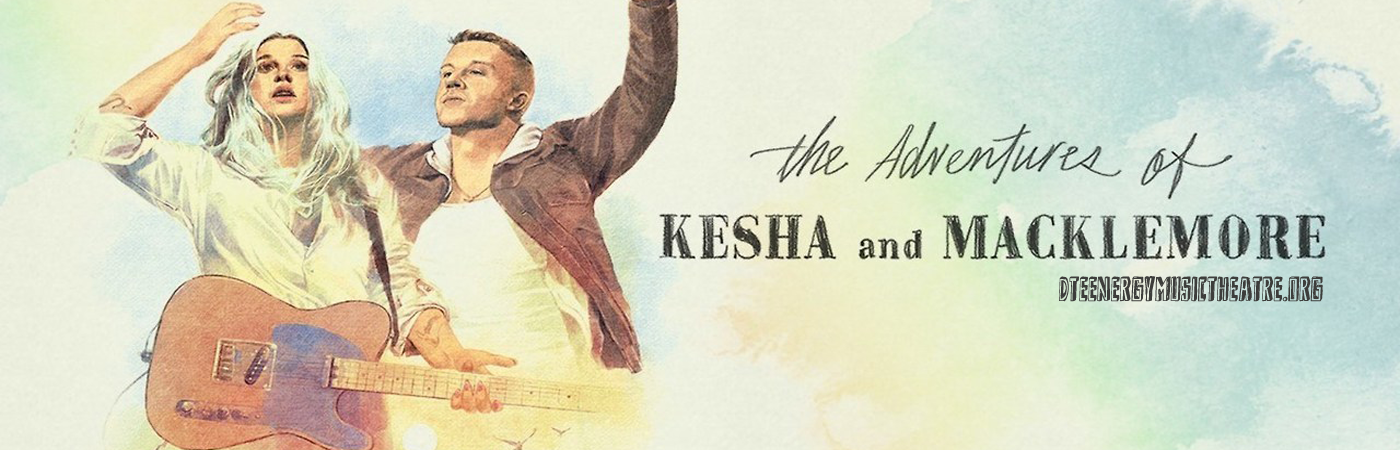 Kesha & Macklemore at DTE Energy Music Theatre