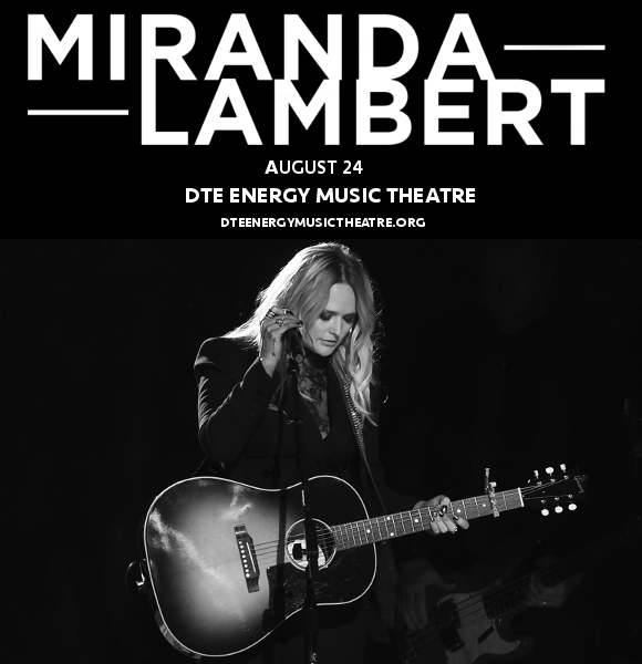 Miranda Lambert & Little Big Town at DTE Energy Music Theatre