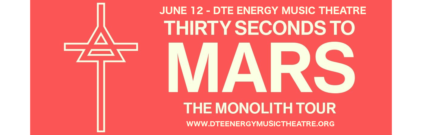 30 Seconds To Mars, Walk The Moon & MisterWives at DTE Energy Music Theatre
