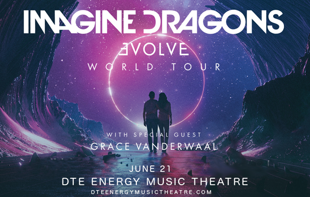 Imagine Dragons at DTE Energy Music Theatre