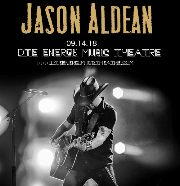 Jason Aldean, Luke Combs & Lauren Alaina at DTE Energy Music Theatre
